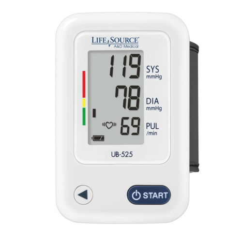 Lifesource Essential Wrist Blood Pressure Monitor UB-525CN