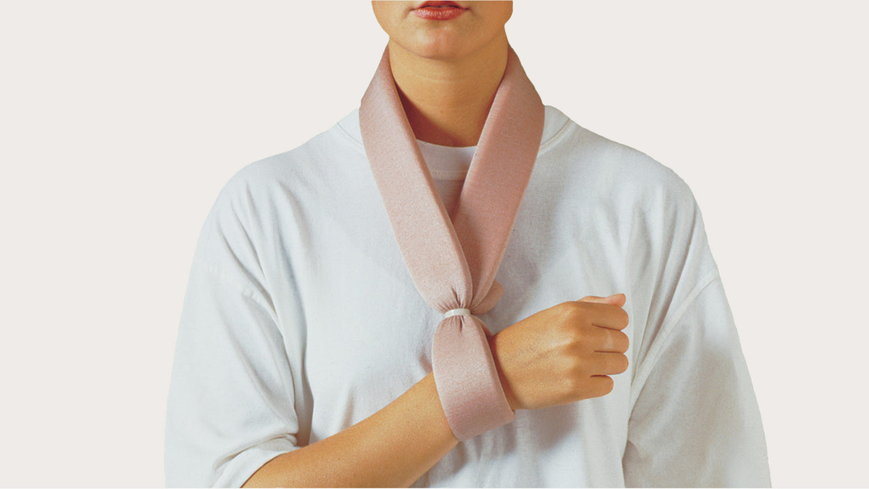 Collar 'n' Cuff Sling Material subject