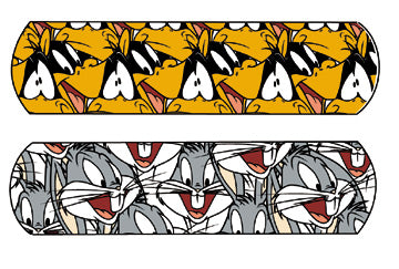 Bugs Bunny™ & Daffy Duck™ bandages