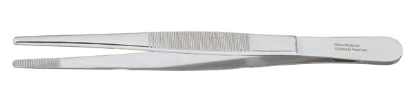 "Vantage® Dressing Forceps 4⅝"", Serrated Tips"