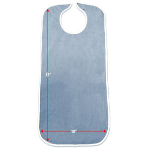 priva-waterproof-mealtime-protector-terry-blue