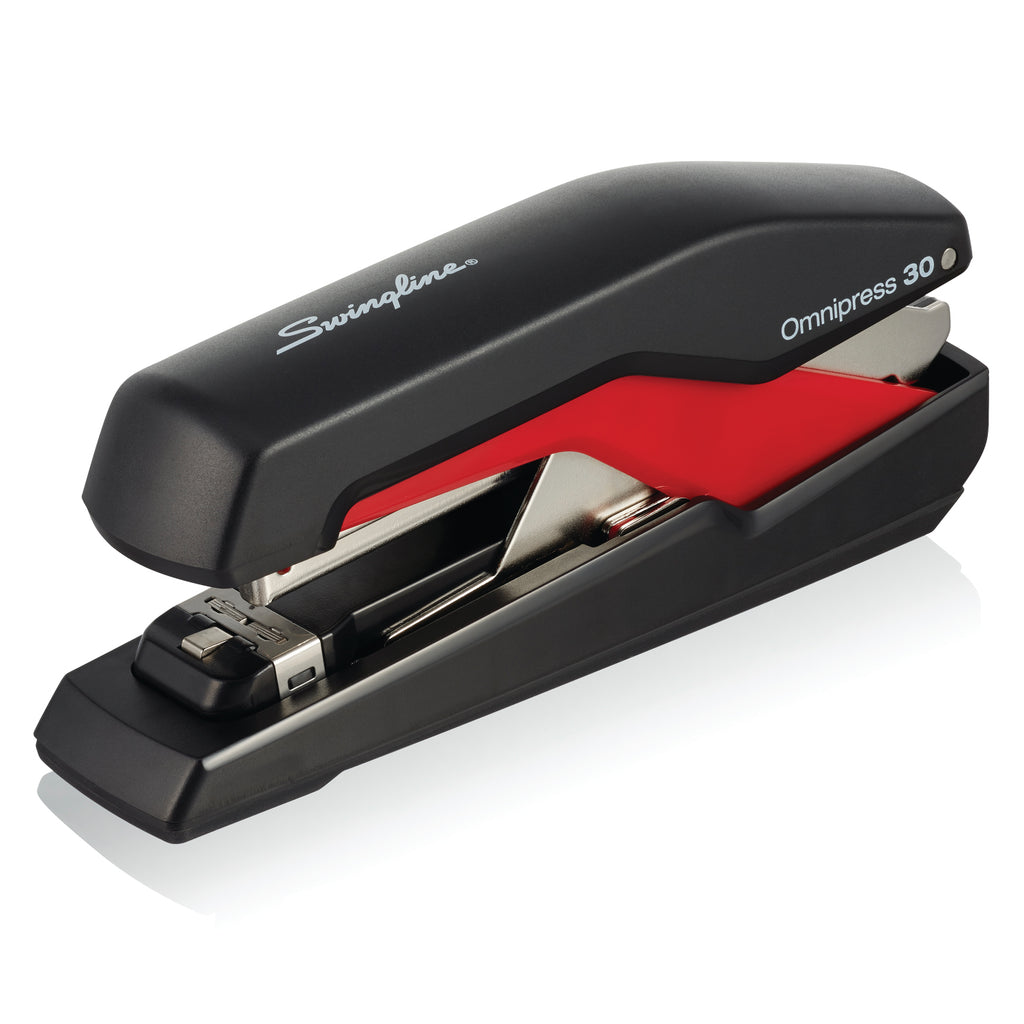Swingline Omnipress Stapler Black-red