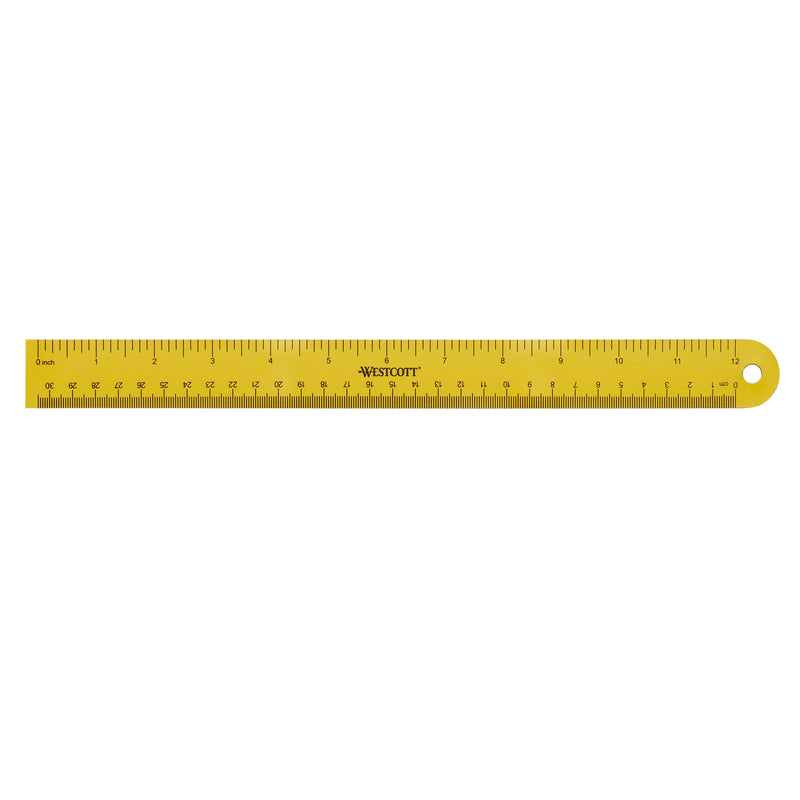 Westcott 12in Magnetic Ruler