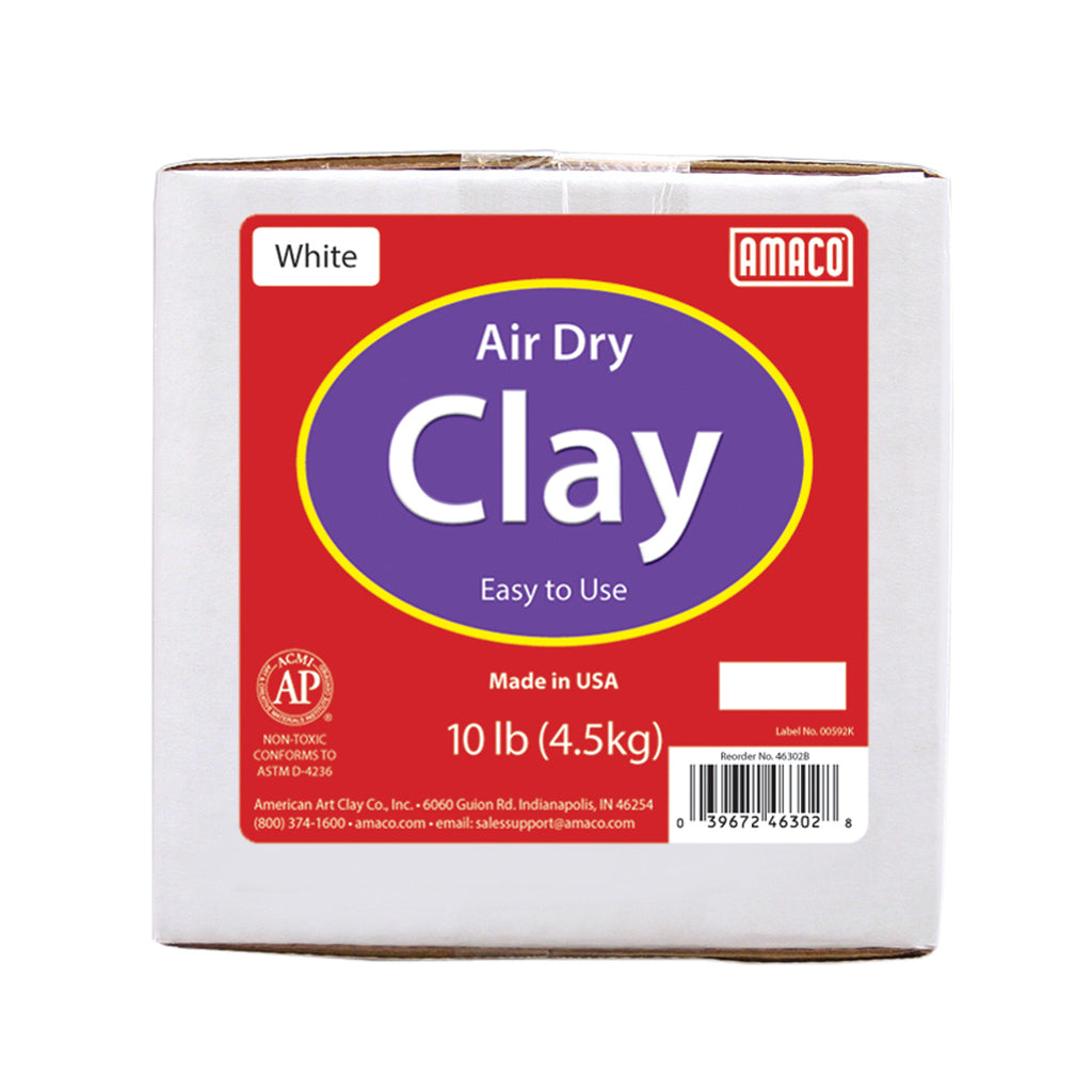 White Air Dry Clay