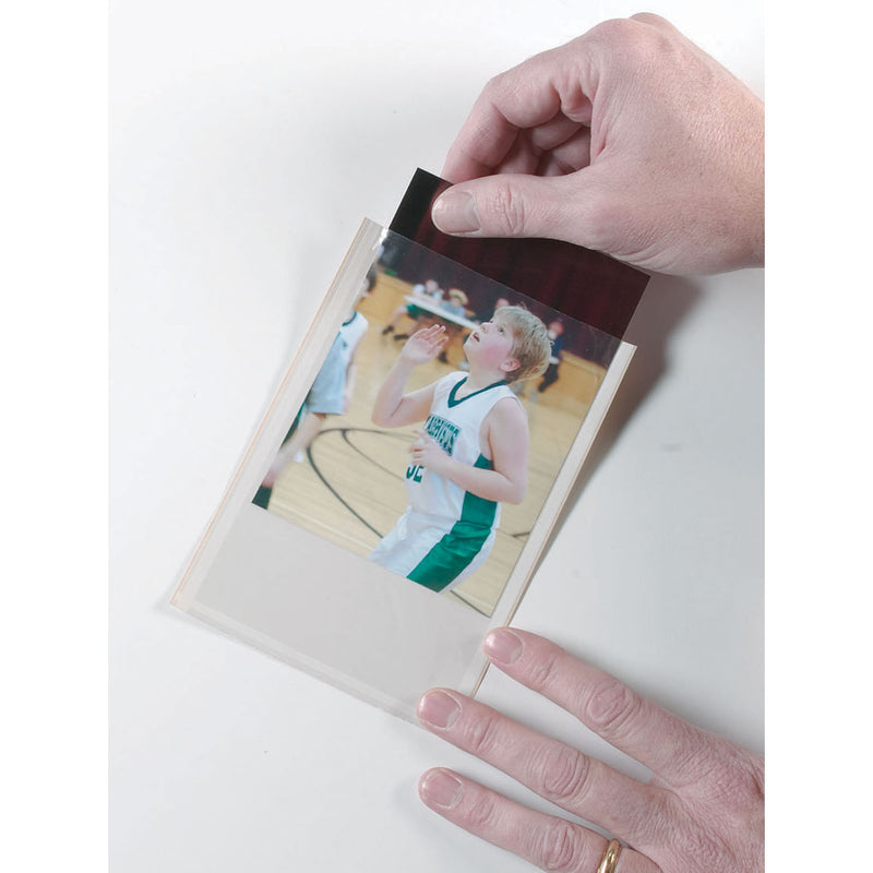 Clear View Self-adhesive 25-pk Pockets Photo-index Card 4 X 6