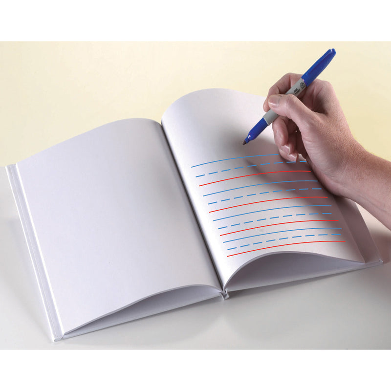 8 X 6 Blank Hardcover Books With Primary Lines