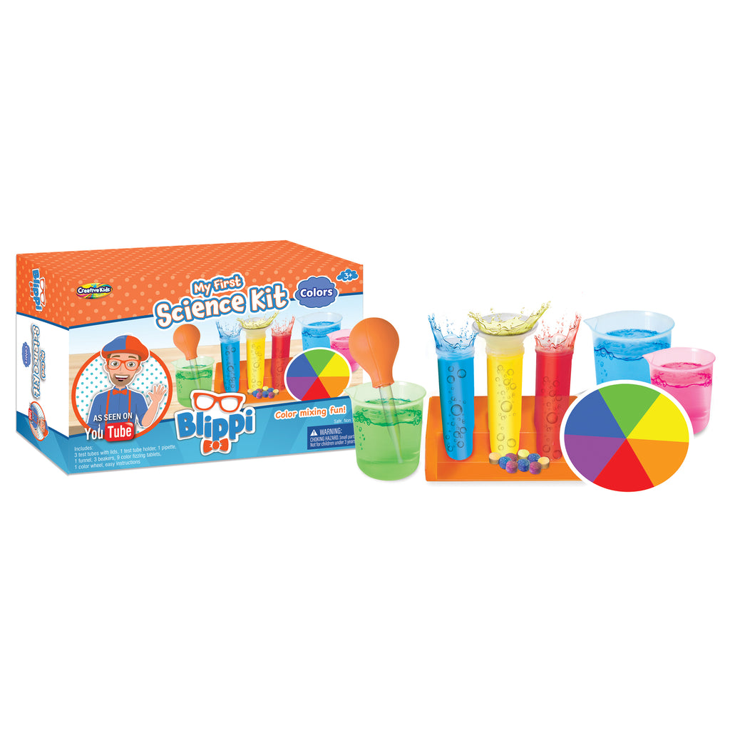 Blippi My First Science Kit Colors