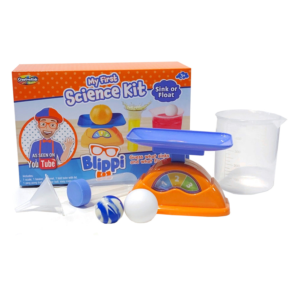 Blippi My First Science Kit Sink Or Float