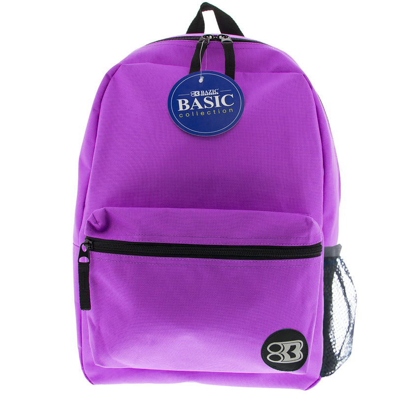 16in Purple Basic Backpack