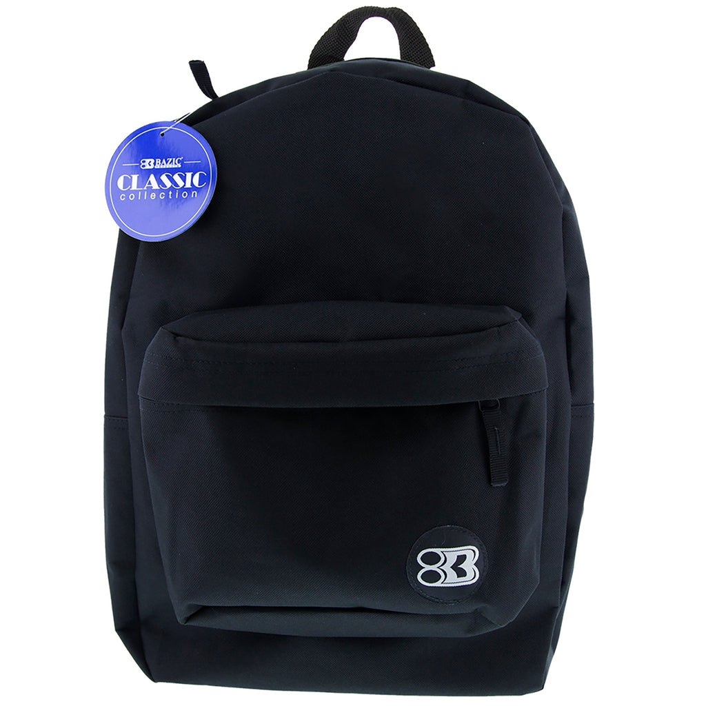17in Black Classic Backpack