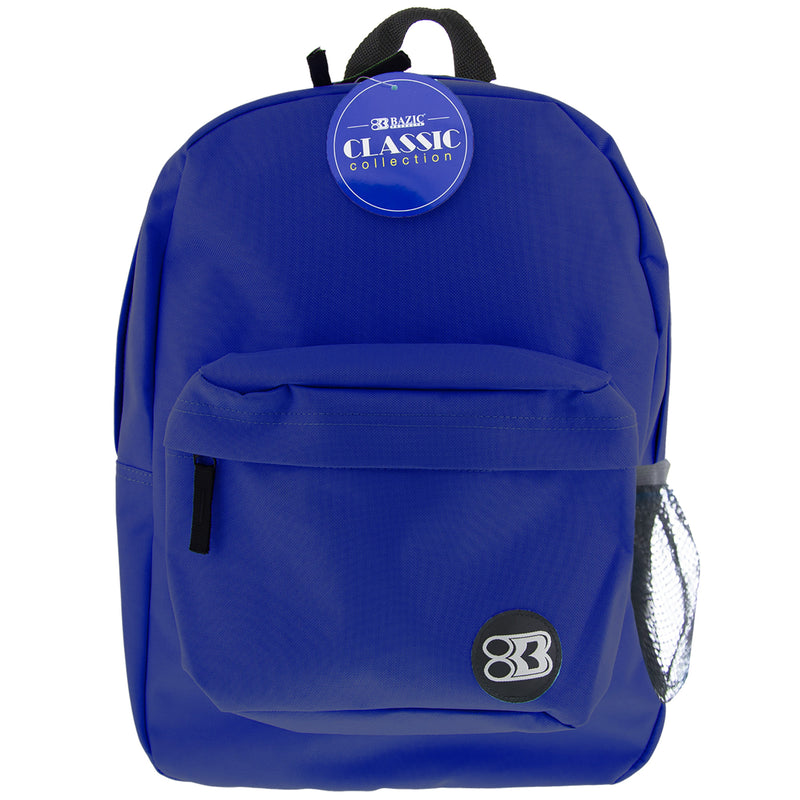 17in Blue Classic Backpack