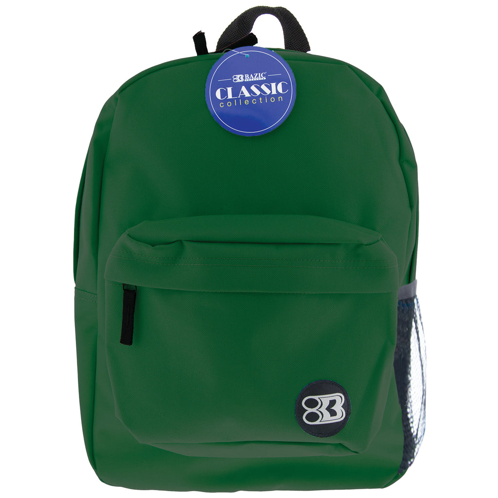 17in Green Classic Backpack