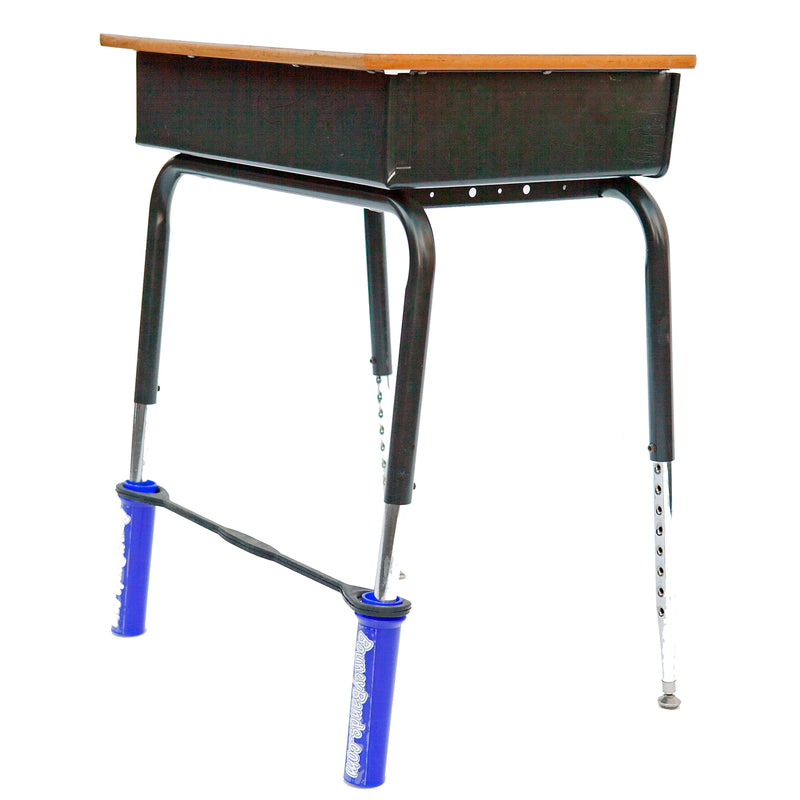 Bouncy Bands For Desk Blue Fits 20-28in Wide Desk