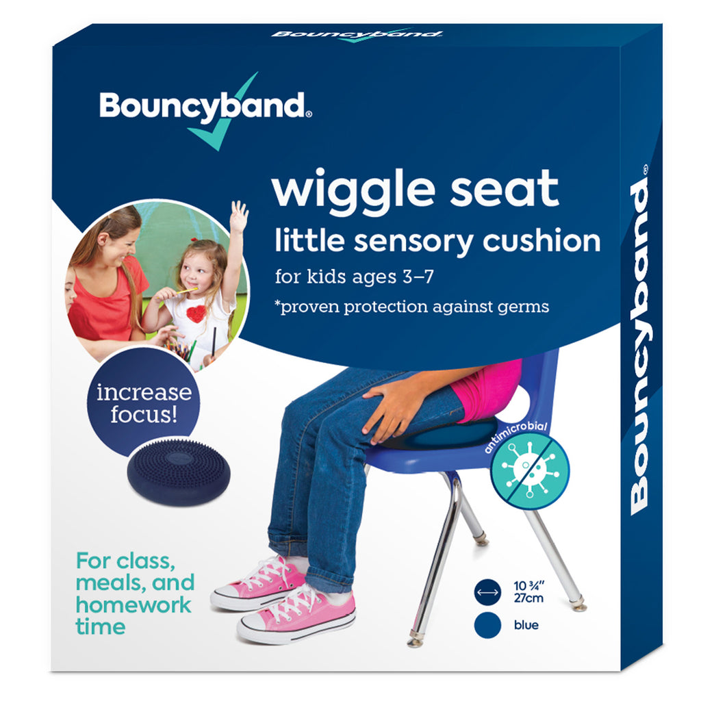Little Sensory Seat Cushion Blue Antimicrobial