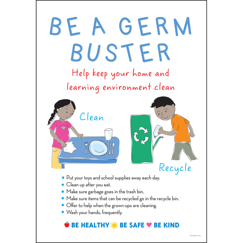 Be A Germ Buster Poster