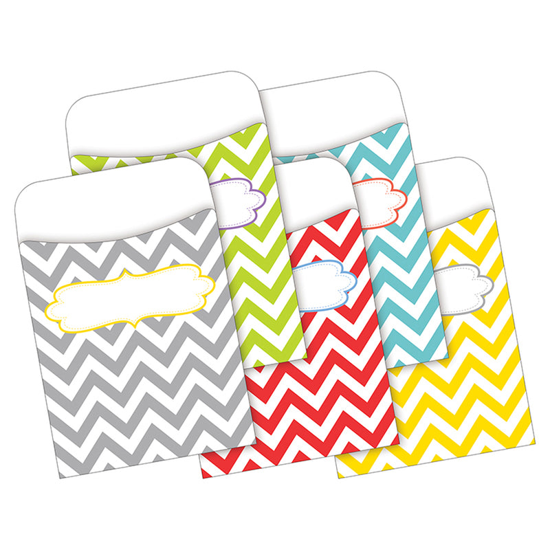 Peel & Stick Pockets Chevron Beautiful Multi-design Set