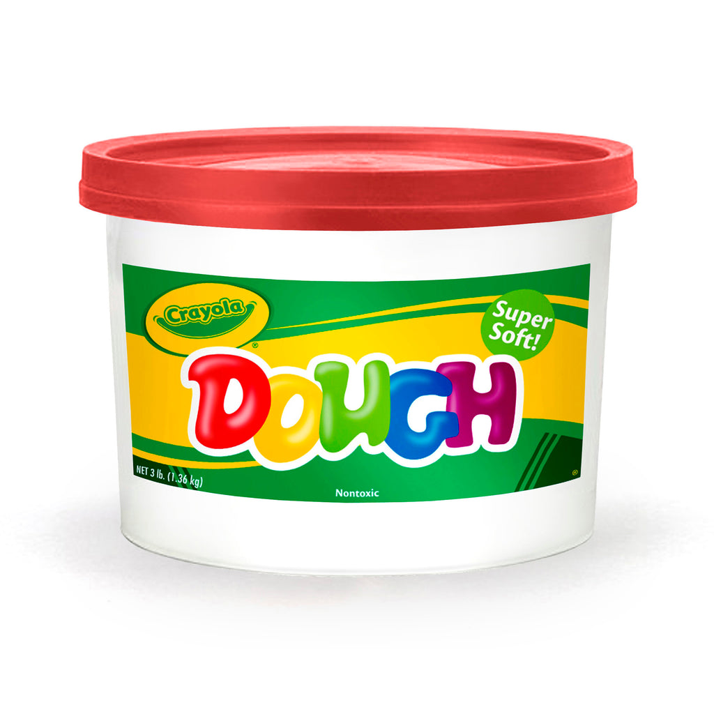 Modeling Dough 3lb Bucket Red