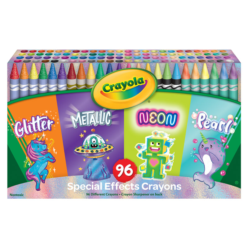Specialty Crayons 96 Count