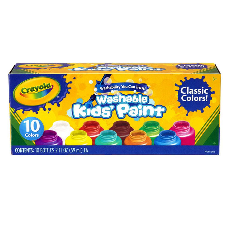 Washable Kids Paint 10 Colors