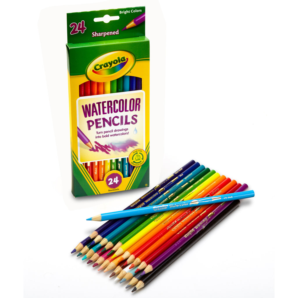 Watercolor Colored Pencils 24pk