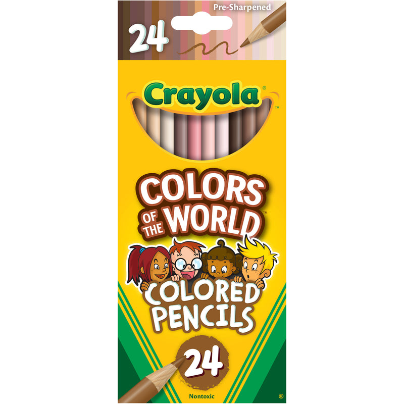 Colors Of World Colored Pencls 24pk
