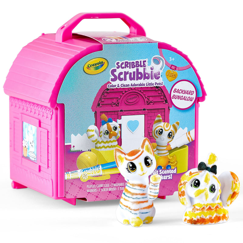Scribble Scrubbie Pets Backyard Bungalow
