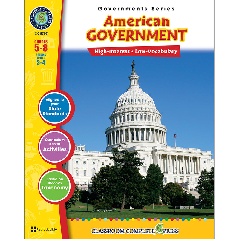 (3 Ea) American Government Govs Series