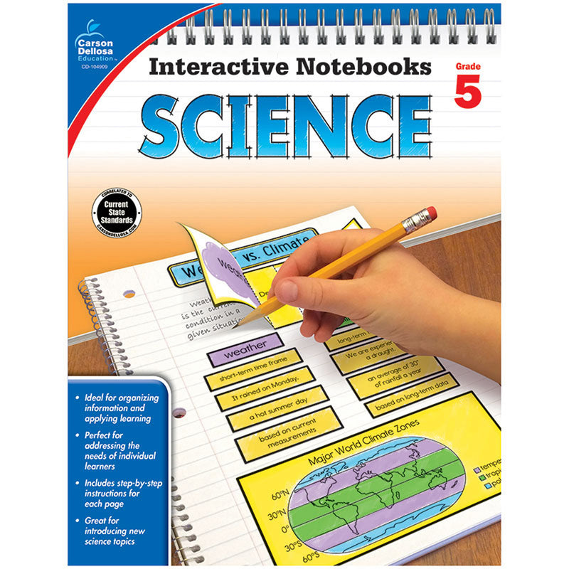 Interactive Notebooks Science Gr 5 Resource Book