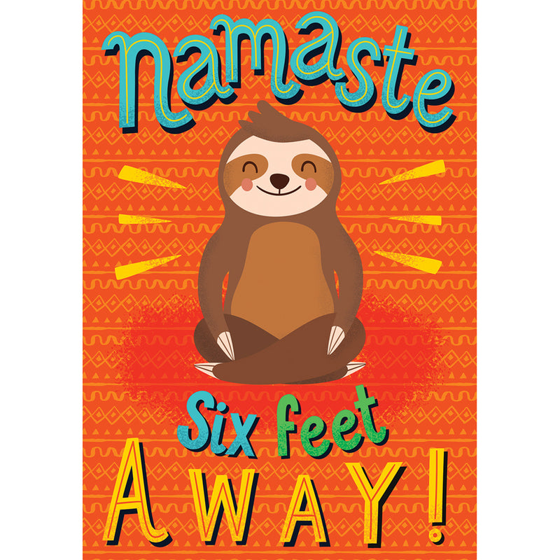 Namaste Six Feet Away Poster One World