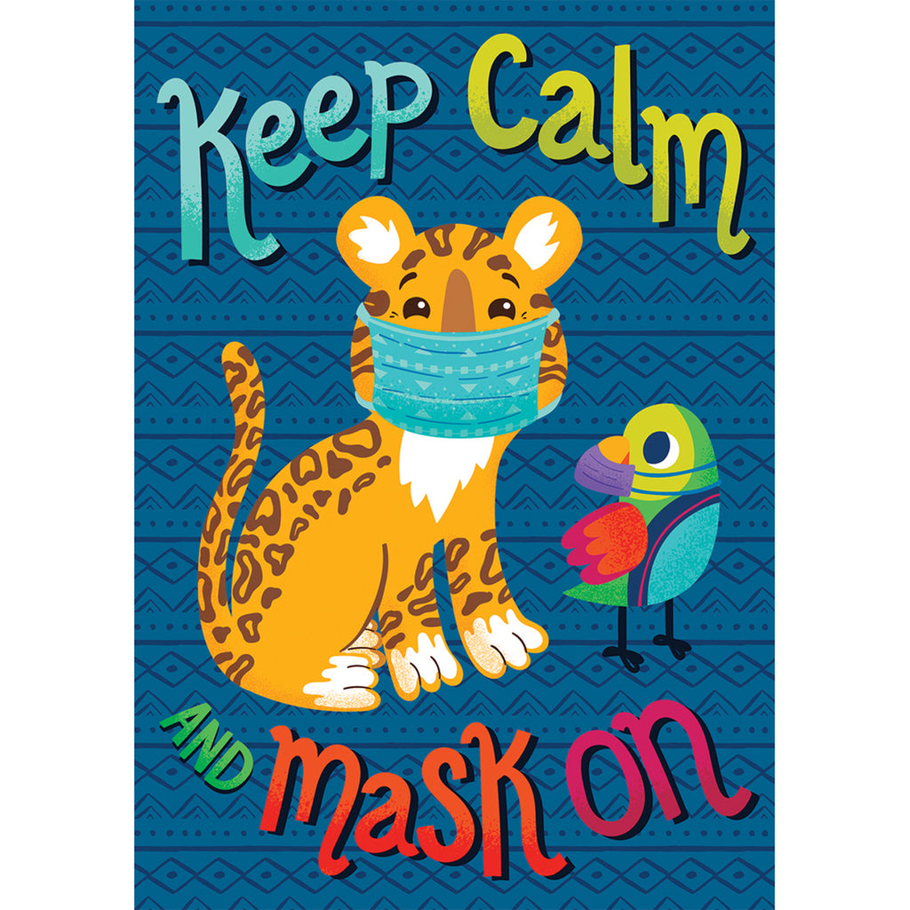Keep Calm And Mask On Poster One World