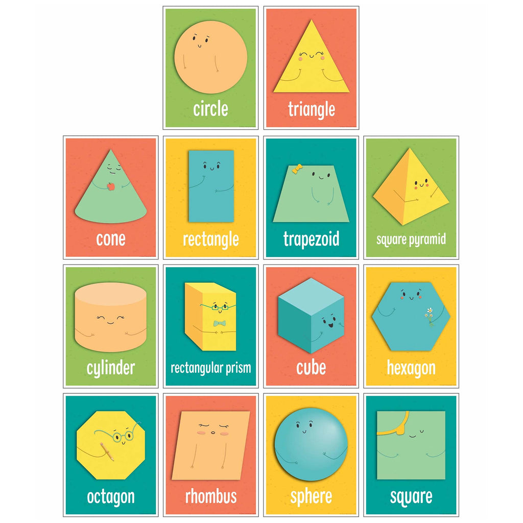 Shapes Mini Posters Set