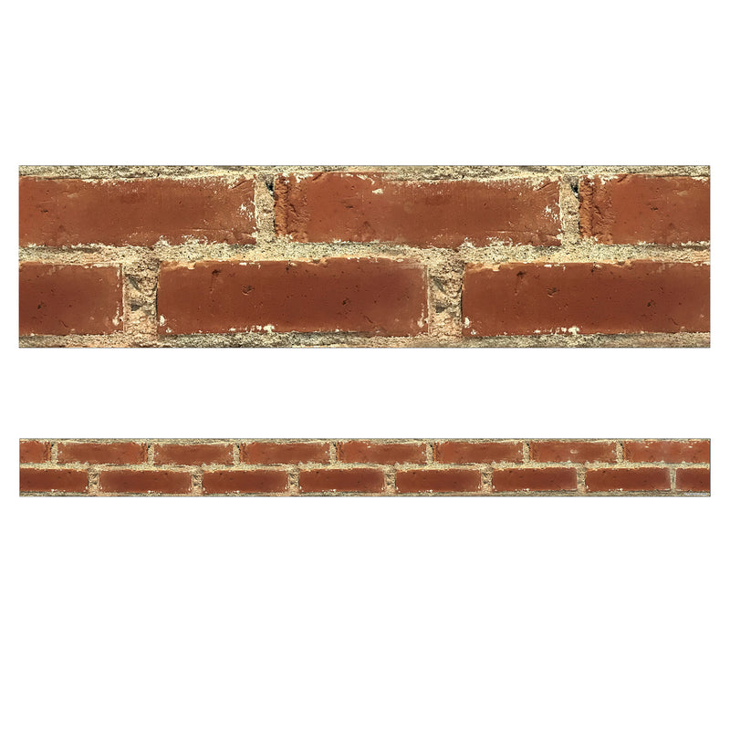 (6 Pk) Brick Straight Borders Industrial Cafe