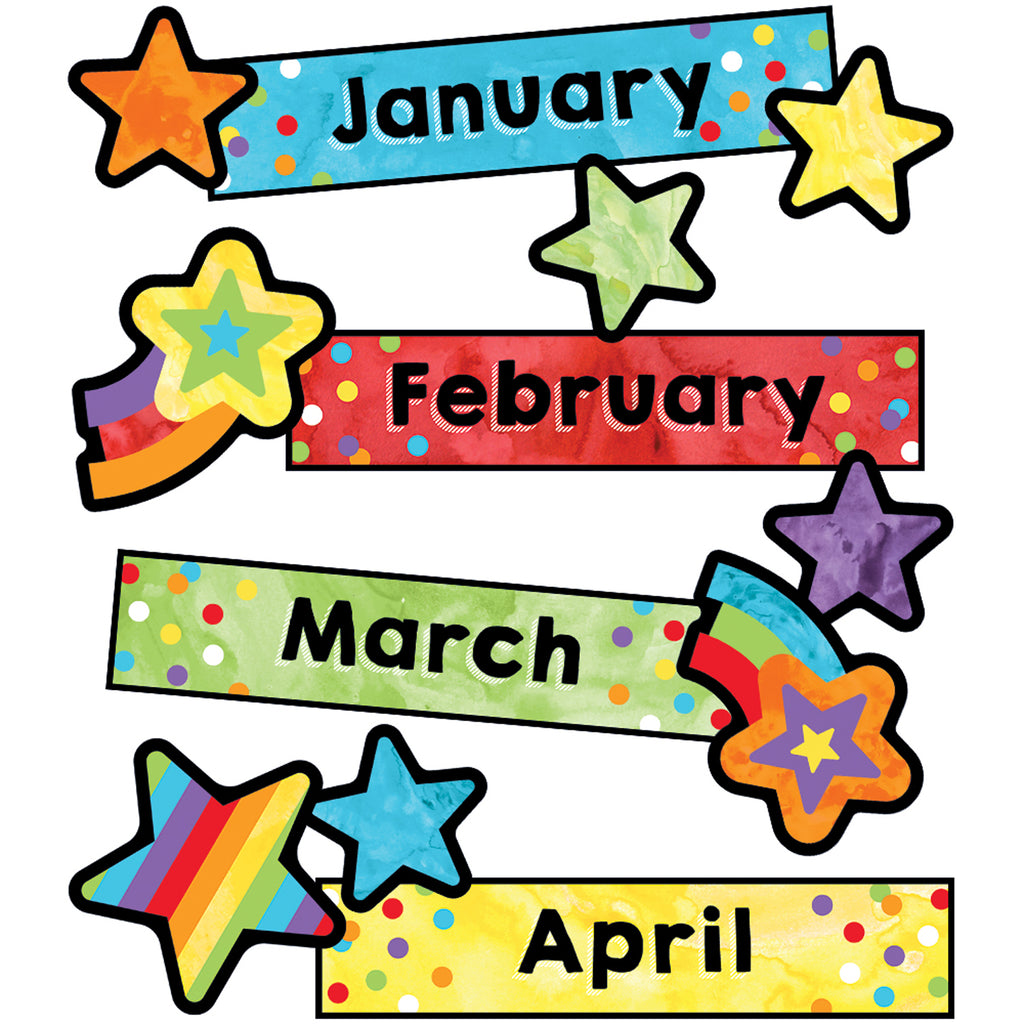 (3 Pk) Months Of The Year Mini Bb St Celebrate Learning