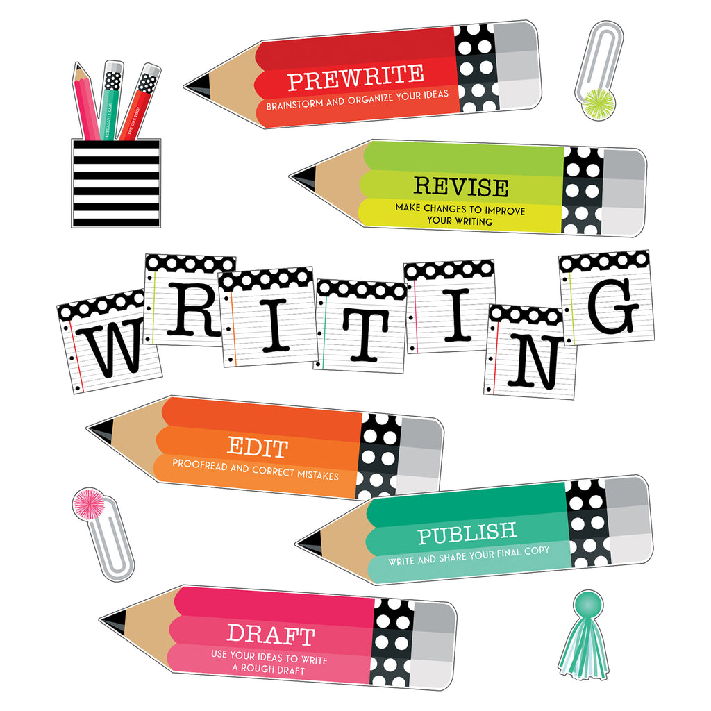 Brights Writing Mini Bb St Black White & Stylish