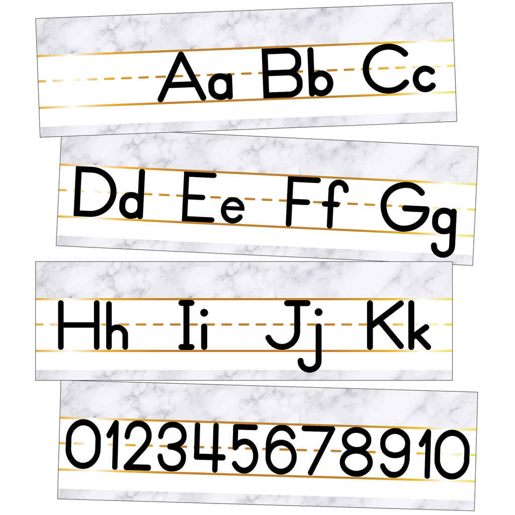 Alphabet Line Manuscript Mini Bb St Simply Boho