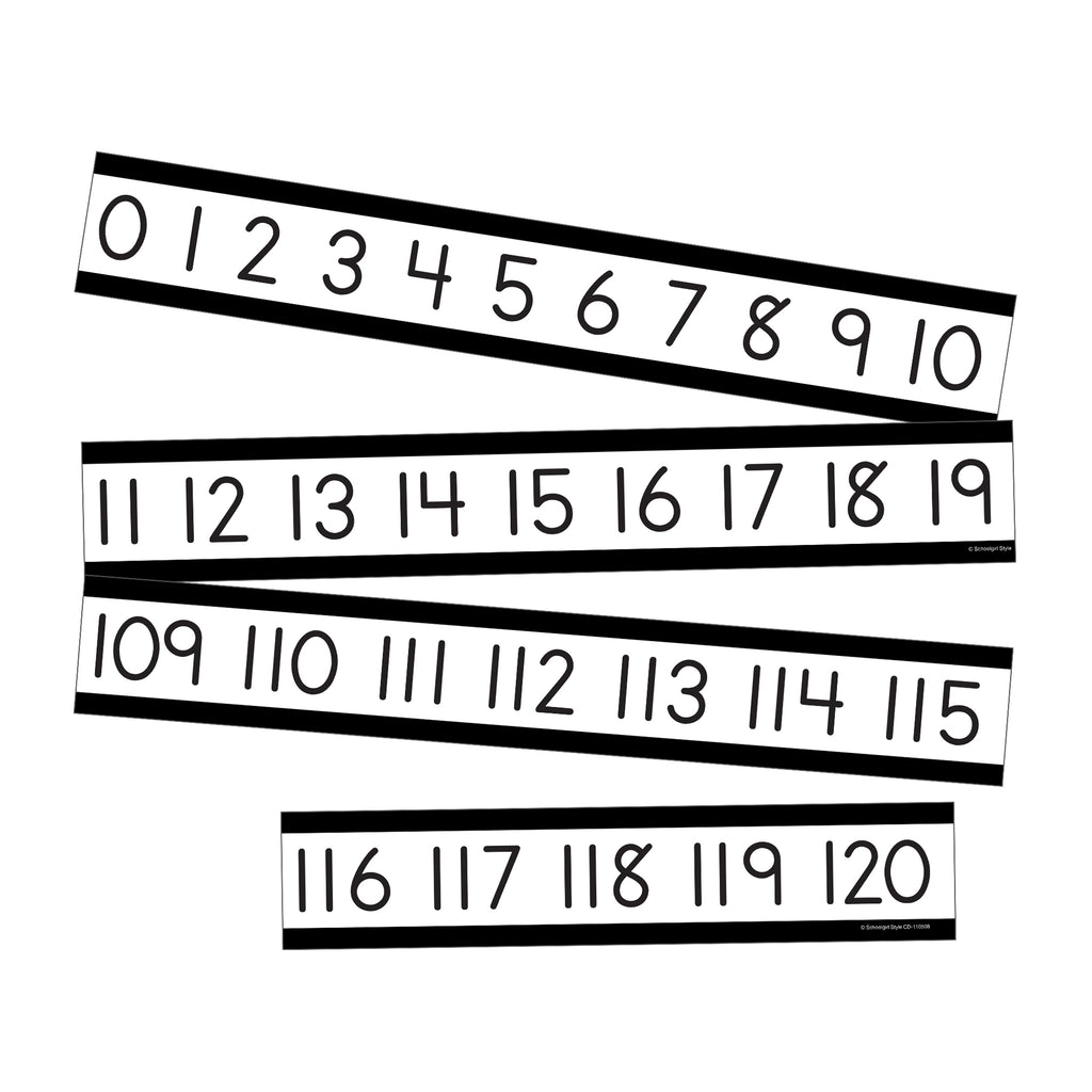 Simply Boho Number Line Mini Bb St
