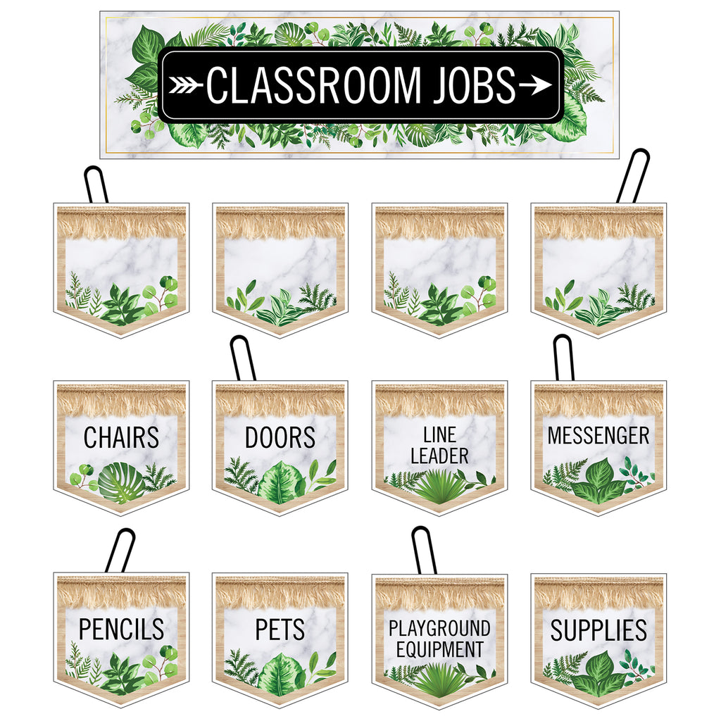 Simply Boho Classrm Jobs Mini Bb St Simply Boho