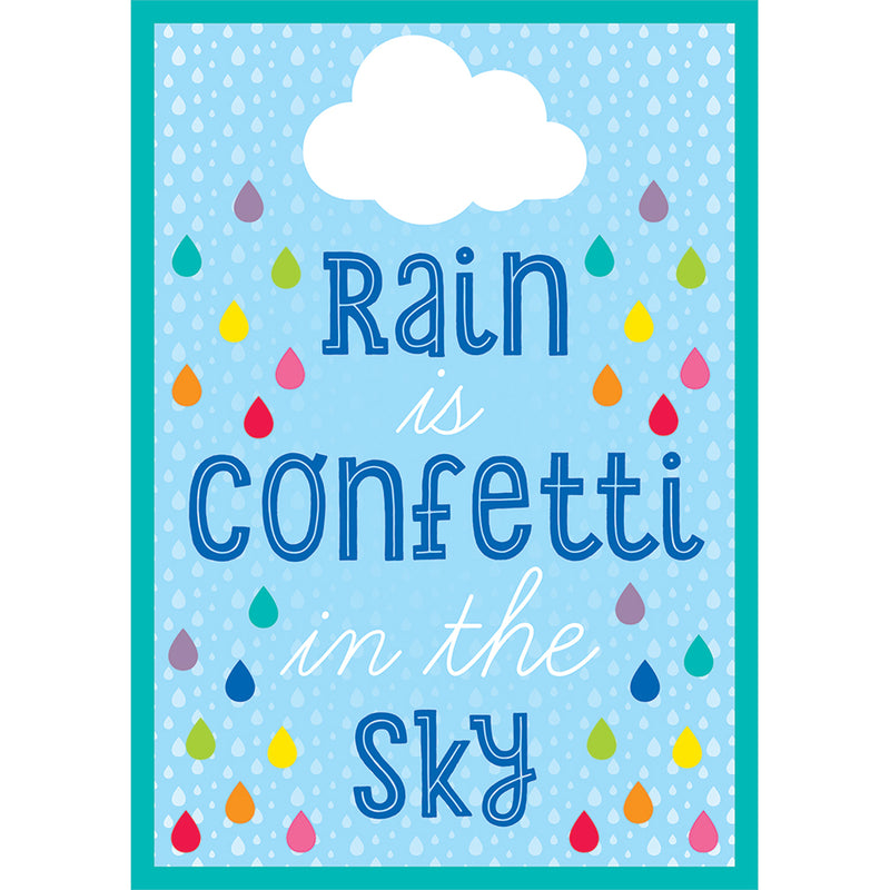 Rain Is Confetti In The Sky Chart Hello Sunshine