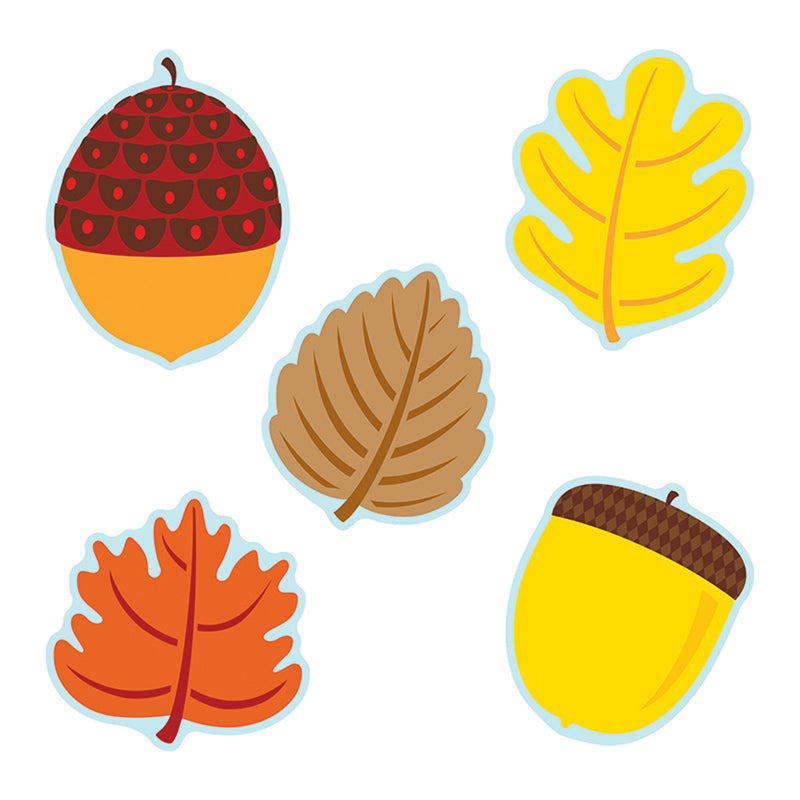 (3 Pk) Leaves & Acorns Cut Outs