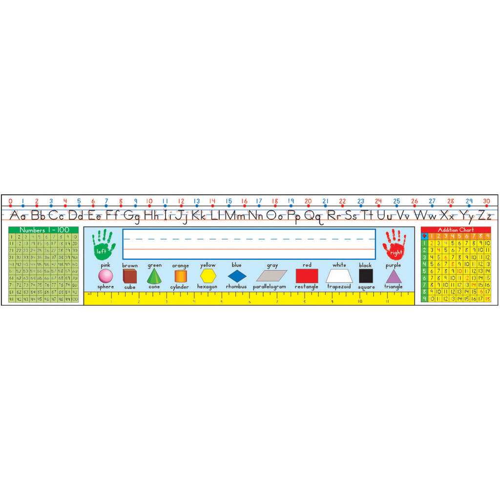 Traditional Manuscript Nameplates Gr 1-3
