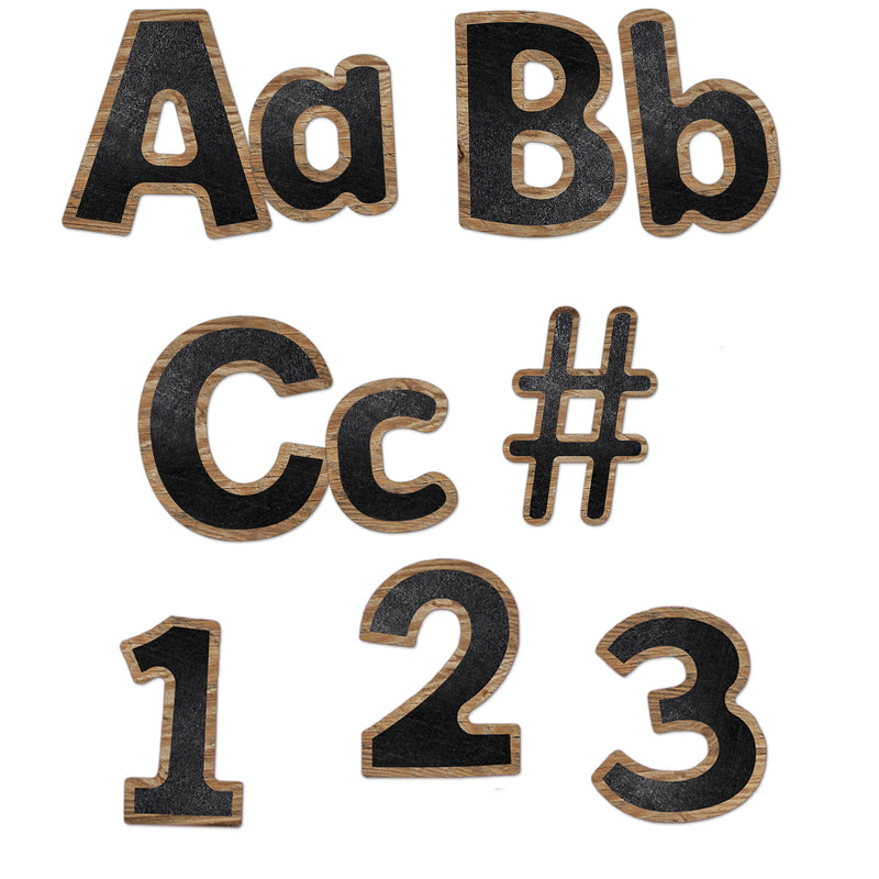 (3 Pk) Combo Pack Ez Letters Industrial Cafe
