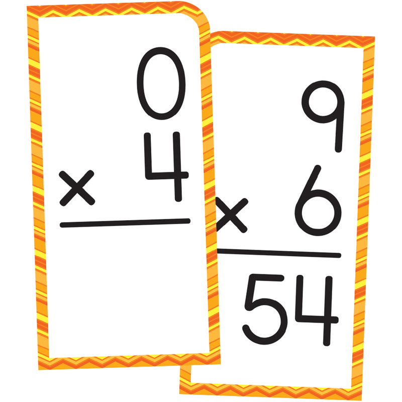 Multiplication Facts Thru 12 Flash Cards