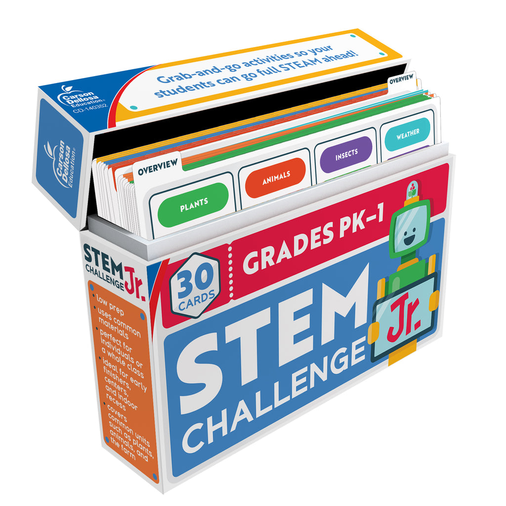 Stem Challenge Jr Learning Cards