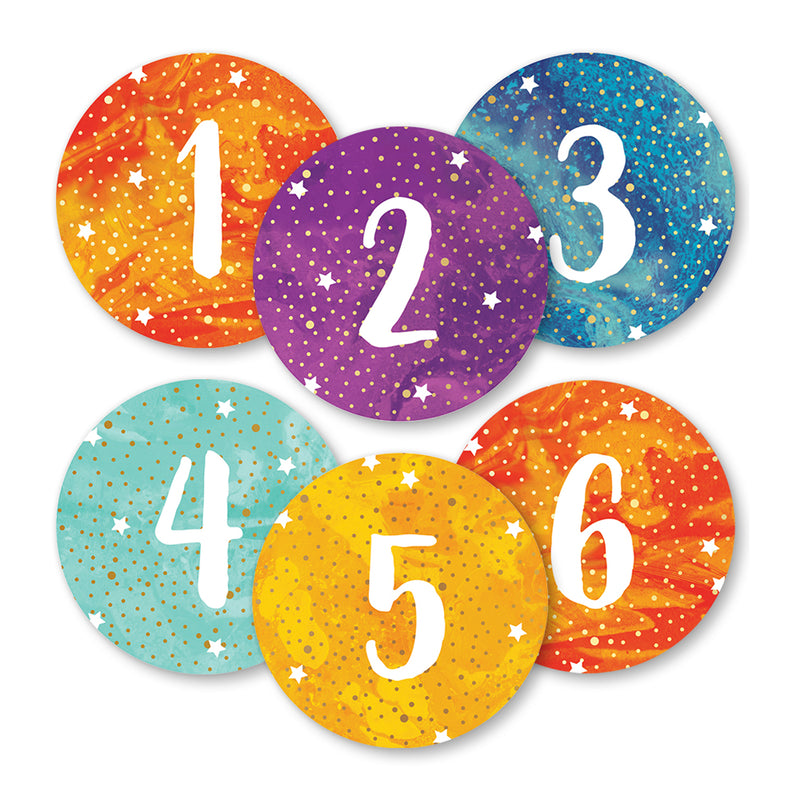 (3 Pk) Galaxy Magnetic Numbers