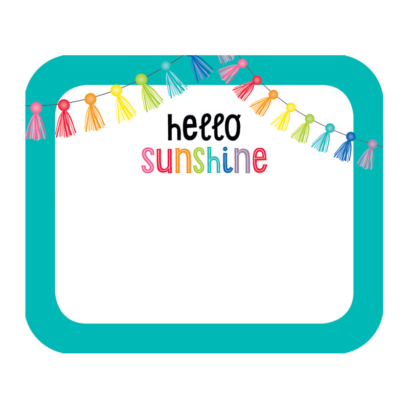 (6 Pk) Hello Sunshine Name Tags