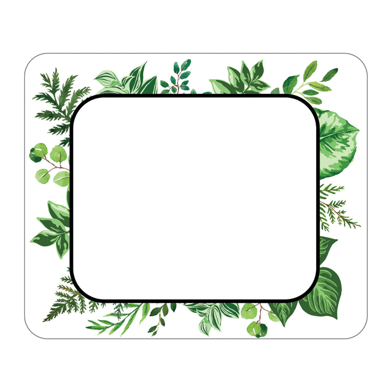 Simply Boho Leaves Name Tags