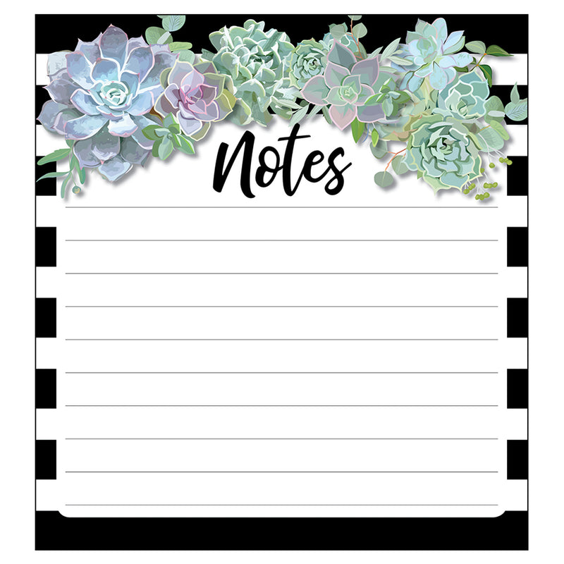 Succulents Notepad