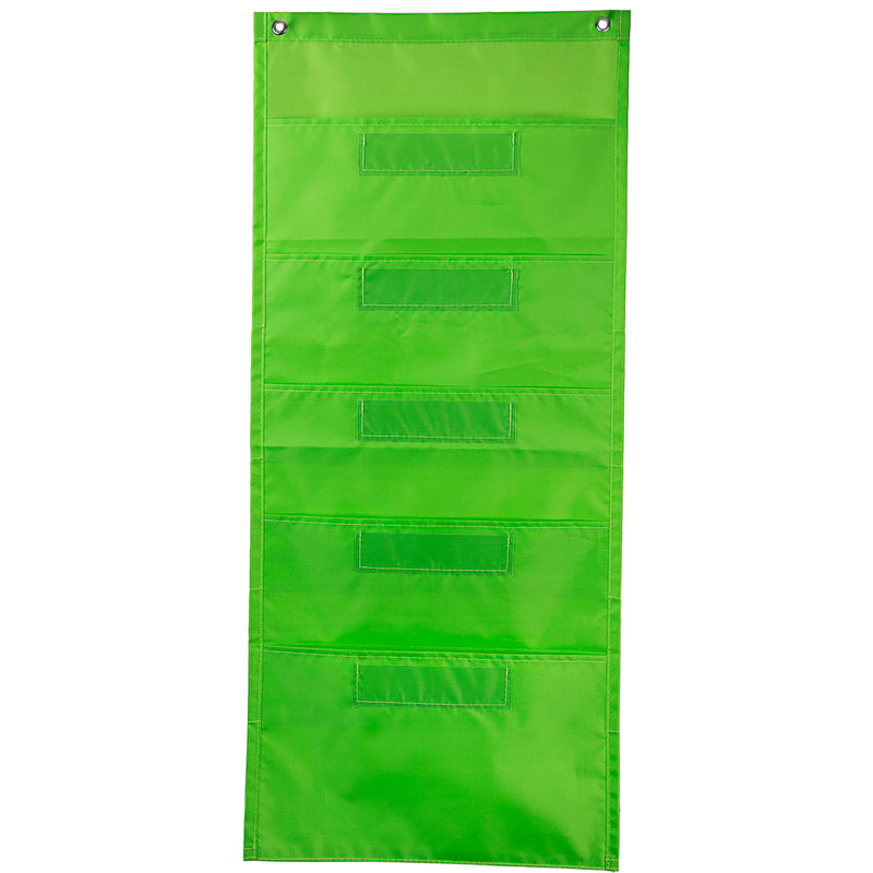 (3 Ea) File Folder Storage Lime Pocket Chart