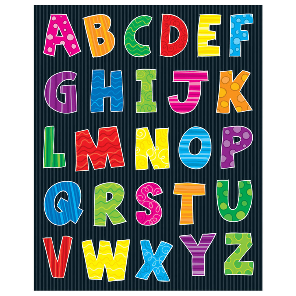 (12 Pk) Alphabet Shape Stickers 156 Per Pk