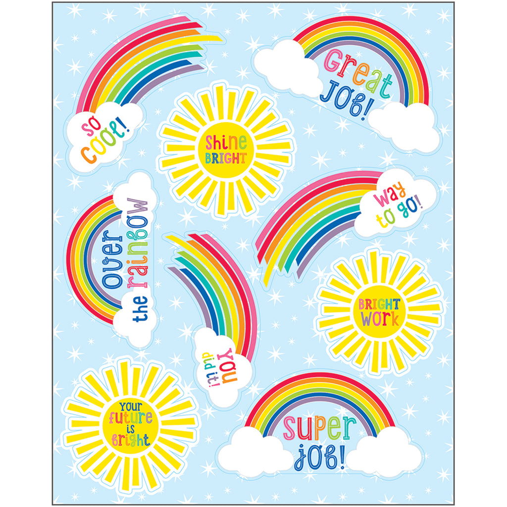 (12 Pk) Hello Sunshine Motivational Sticker